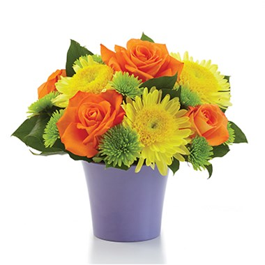 Citrus Surprise flower bouquet (BF51-11KS)